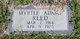 Myrtle Johnnie <I>Adams</I> Reed