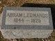 """Profile photo:   Abraham L """" """" <I> </I> Edwards,"""