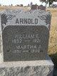 "Profile photo:  Martha Jane ""Jennie"" <I>Dysart</I> Arnold"