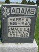 Profile photo:  Maud E Adams