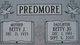 Betty J Predmore