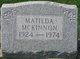 Matilda McKinnon