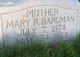 Mary R. Bargman