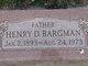 Henry D. Bargman