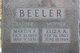 Eliza Ann <I>Bass</I> Beeler