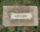 Profile photo:  A. W. Cox
