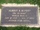 Profile photo:  Albert A. Alfrey