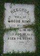 Rebecca <I>Wagner</I> Hawk