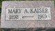 Mary A. Kaiser