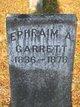 Pvt Ephraim Alexander Garrett