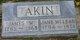 Catharine Jane <I>McLean</I> Akin