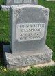 John Walter Clemson