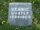"Benjamin ""Bennie"" Quayle"