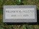 William H MacAllister