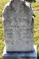 Profile photo:  Jane Elizabeth <I>Newsom</I> Adams