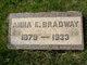Anna E Bradway