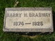 Harry H Bradway, Sr