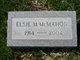Elsie B <I>MacAllister</I> McMahon