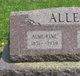 Profile photo:  Almorine Harrison Allen