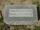 Profile photo:  Anna E. Alleger