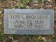 Elto Louise <I>Potts</I> Broaddus