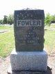 Profile photo:  Ada J <I>Rose</I> Fowler
