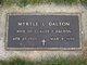 Myrtle Lenna <I>Nelson</I> Dalton