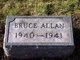 Profile photo:  Bruce Allan