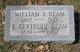 Profile photo:  William A. Beam