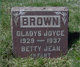 """Betty Jean """"Infant"""" Brown"""
