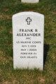 Profile photo:  Frank Raymond Alexander