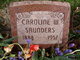 Profile photo:  Caroline W <I>Thompson</I> Saunders