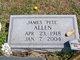 "James Garnett ""Pete"" Allen"