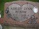 Ashley Lynn <I> </I> Reahm,