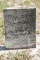 Profile photo:  Edna Dixon