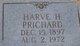 Profile photo:  Harve Henry Prichard