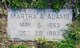 Profile photo:  Martha A. <I>Ryker</I> Adams
