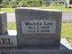 Wanda Lee <I>Mabrey</I> Daniel