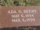 Profile photo:  Ada O. Beery
