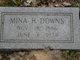 Mina H. <I>Hartway</I> Downs