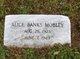 Alice <I>Banks</I> Mobley