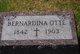 Bernadina <I>Ruebe</I> Otte
