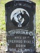 Sophronia E <I>Boyet</I> Studstill