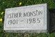 Esther M Monson