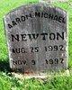Profile photo:  Aaron Michael Newton