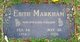 Edith <I>Nabors</I> Markham