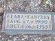 Clara Gene Langley