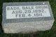 Basil Dale Orum