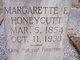 "Margarette Elizabeth ""Sis"" <I>McClung</I> Honeycutt"
