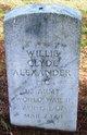 PFC Willie Clyde Alexander